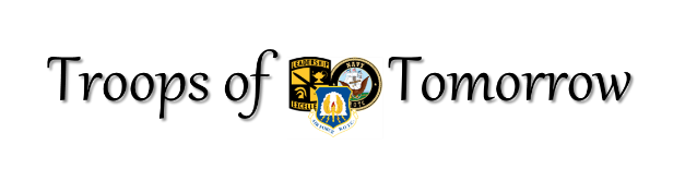 AUSA ROTC Troops of Tomorrow logo